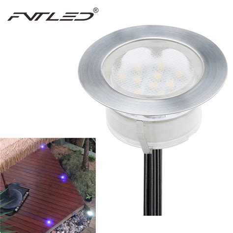 Outdoor Led Pot Lights Fvtled 10pieces Waterproof Led Recessed Floor Wall Step Ls Patio Paver Plinth Outdoor
