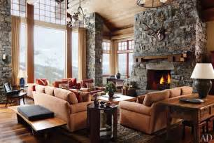 Mountain Homes Interiors Mountain Home Rustic Decor Wood Cabin