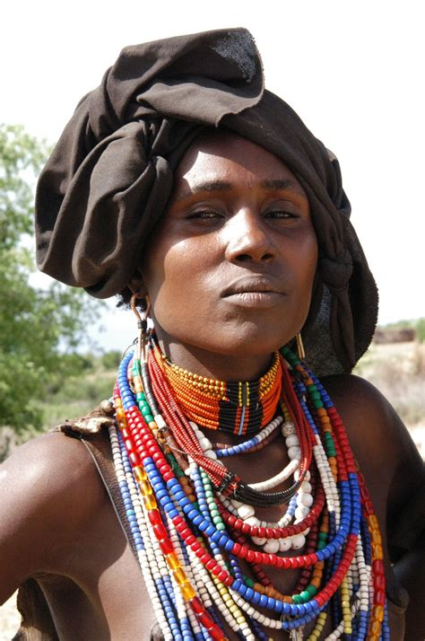 african tribe women arbore people from ethiopia