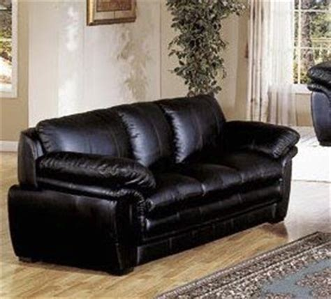 plush leather couches home furniture plush contemporary black leather sofa couch
