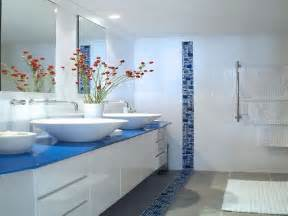 Blue Bathroom Tile Ideas by Blue White Bathroom Tile Ideas Home Design Ideas