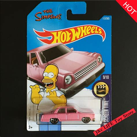 Wheels The Simpsons Pink the simpsons cars promotion shop for promotional the