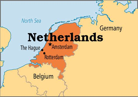 netherlands map in world map netherlands operation world