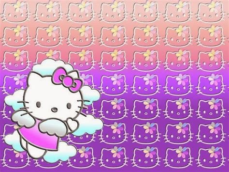 gambar wallpaper hello kitty bergerak gambar hello kitty wallpaper ungu gambar hello kitty
