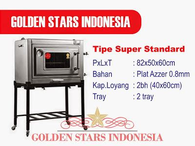 Daftar Oven Gas Roti daftar harga oven gas quot golden quot oven gas golden
