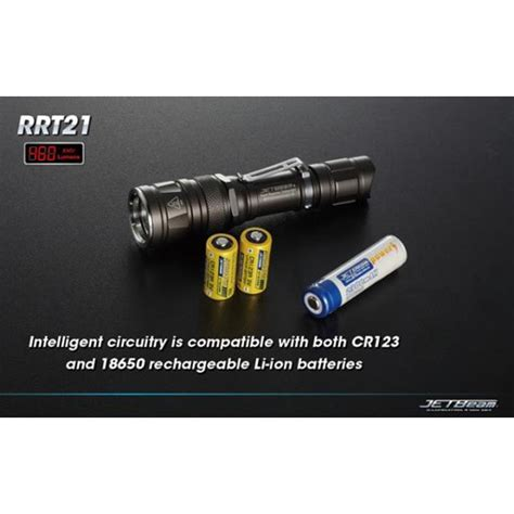 Termurah Jetbeam Rrt 21 Senter Led Cree Xm L 460 Lumens Black 1 hitech illumination hitech jetbeam rrt 21 flashlight