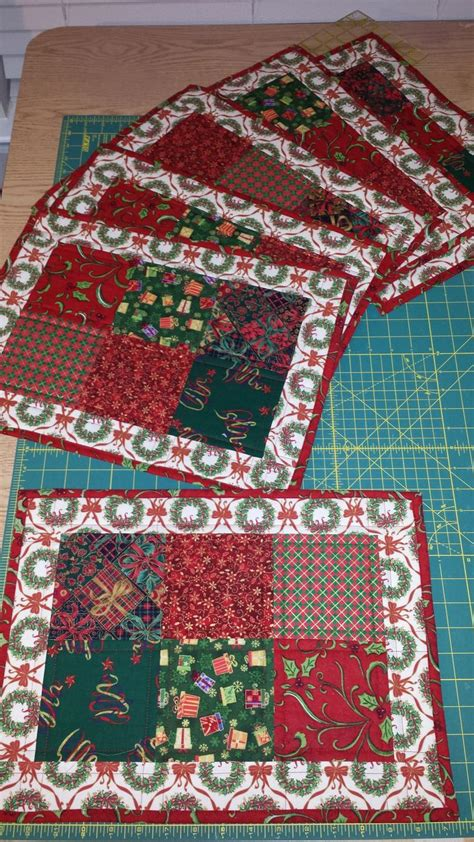 Patchwork Placemat Patterns - best 25 quilting ideas on