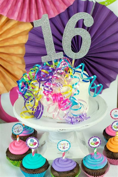 sweet  birthday party ideas throw  candy themed party