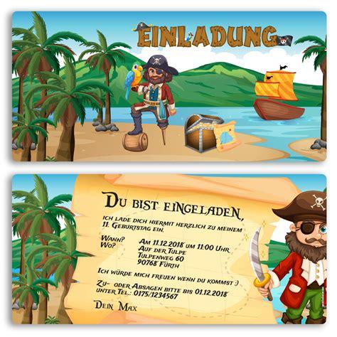 einladung vorlage pirat kindergeburtstag piraten einladung vorlagen