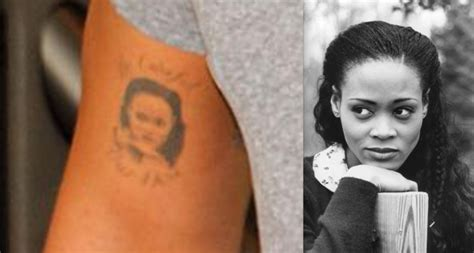 drake rihanna tattoo did rihanna just get a dedicated to