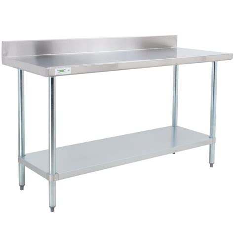 stainless steel shop desk regency 30 quot x 72 quot 18 gauge 304 stainless steel commercial