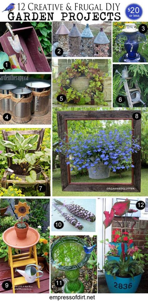 Garden Projects Ideas 12 Creative And Frugal Diy Garden Projects 20