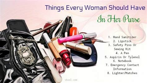 12 Things Every Should In Purse by 20 Things Every Should In Purse