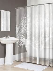 tree shower curtain pearl white bathroom decoration bath