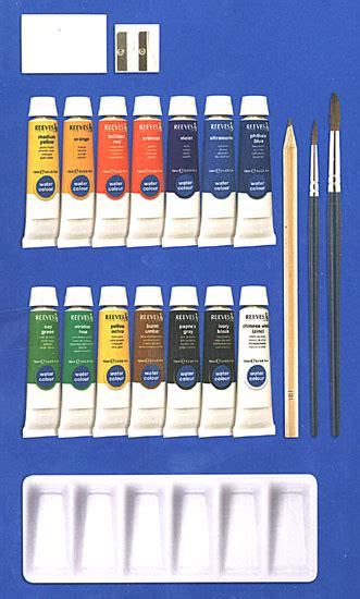 Terlaris Reeves Watercolor Paint Set 24 Pcs deluxe watercolor painting set by reeves save
