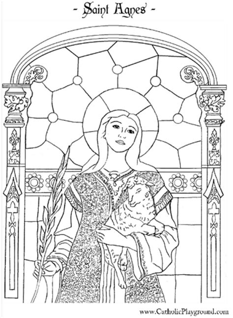 St Coloring Pages Catholic saints coloring pages catholic playground