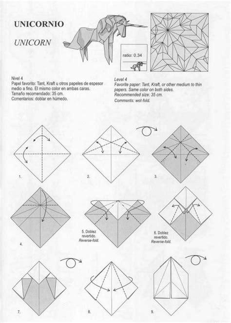 unicorn 1 origami