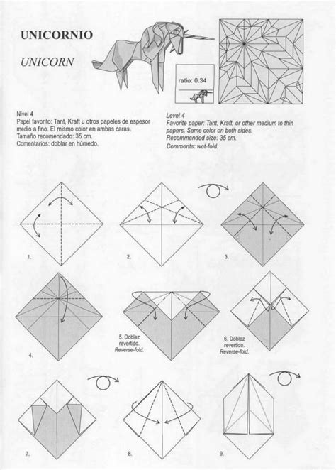 How To Make An Origami Unicorn - unicorn 1 origami