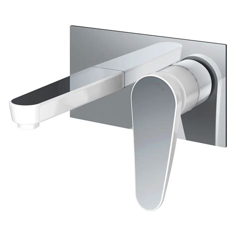 wall mounted bath filler and shower bristan claret wall mounted bath filler clrwmbfc sinks
