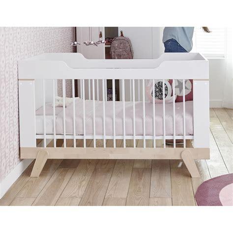 Lit Evolutif Pour Enfant by Lit B 233 B 233 233 Volutif 70x140 Bouleau Blanc Malo Maloblcm01b