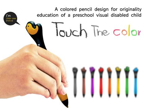 coloring books for visually impaired feelor touch the color a set of pencils that help blind