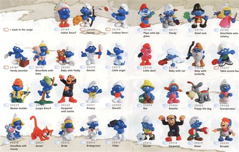 smurfs toys uk images