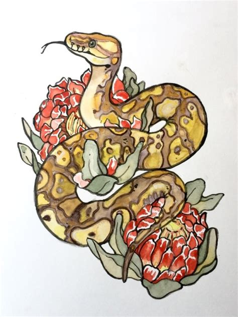 ball python tattoo design tattoos for free