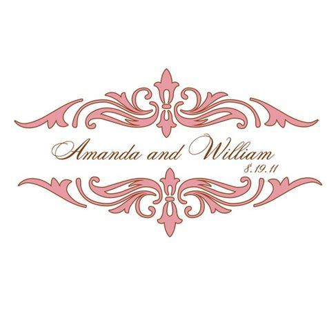 design free wedding logo 21 best images about wedding logo company on pinterest