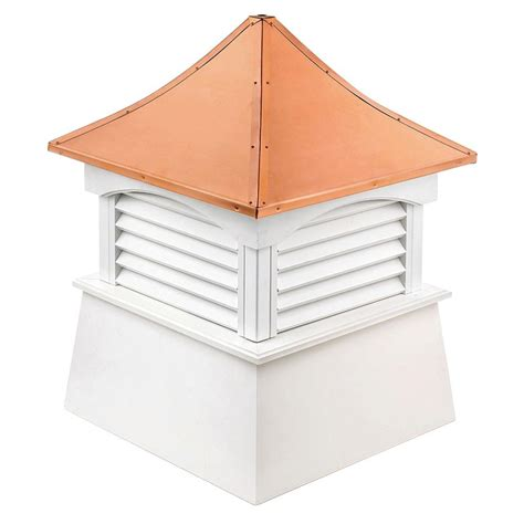 directions coventry vinyl cupola with copper roof 18