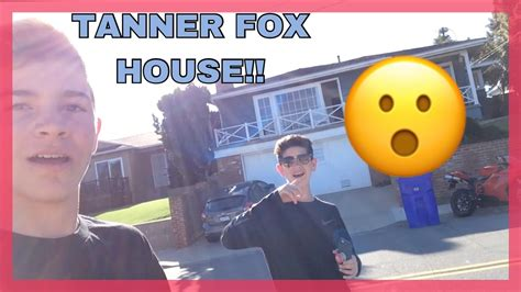 house fox we found tanner fox house youtube