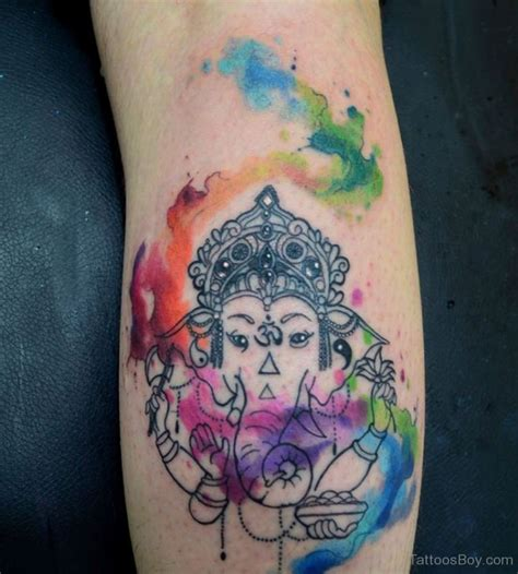 christian watercolor tattoo hinduism tattoos tattoo designs tattoo pictures page 10