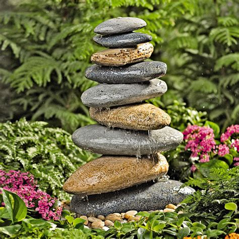 Garden Rock Features Amazing Garden And Backyard Fountains Always In Trend Always In Trend