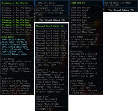 Aura Set Mp dungeon fighter guides the dfo global resource wm builds and reference guide