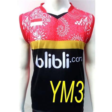 Kaos Singlet Olahraga Badminton Bulutangkis Yonex Y24 jual kaos baju pakaian olahraga badminton bulutangkis yonex blibli singlet