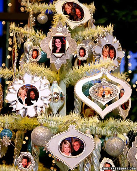 picture frame ornaments video martha stewart