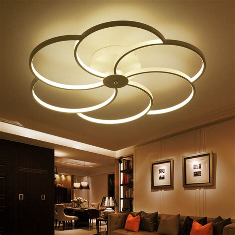 led bedroom light fixtures surface mounted modern led ceiling lights for living