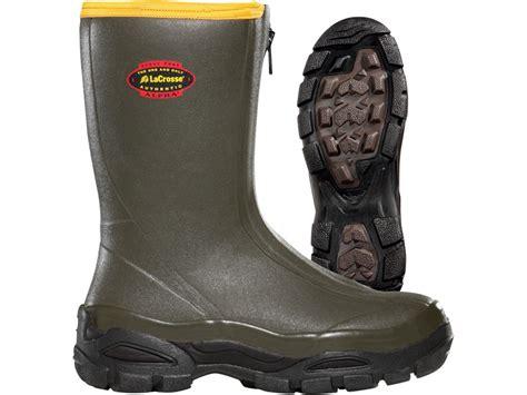 S Zipper Rubber Boots by Lacrosse Alphaburly Sport Front Zip 12 Waterproof
