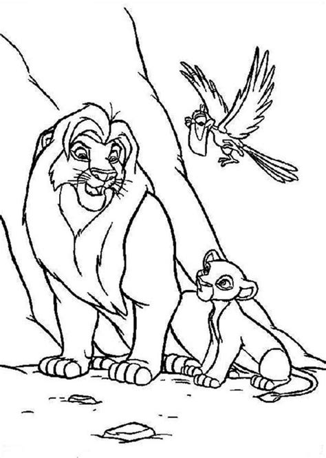 lion king zazu coloring pages zazu coloring pages coloring home