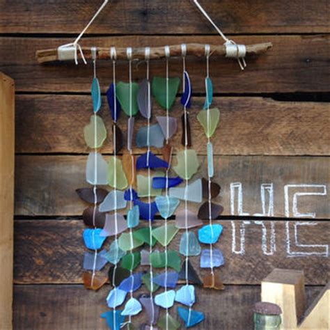 Handmade Glass Wind Chimes - best sea glass wind chimes products on wanelo