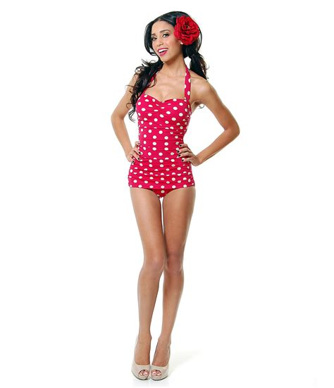 Retro Inspired Bikinis by Vintage Inspired Swimsuit 50 S Style Pin From Unique Vintage