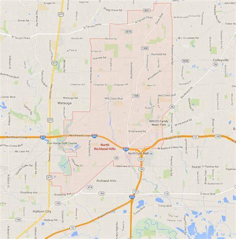 richland texas map richland texas map
