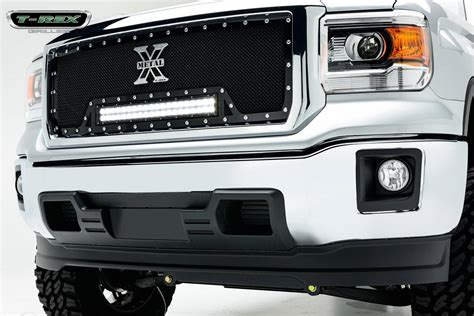 Led Grill Light Bar Gmc Torch Series Led Light Grille 1 30 Quot Led Bar Formed Mesh Grille Insert 1 Pc