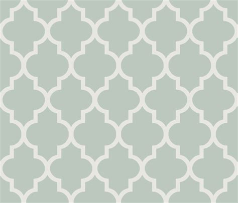 demand pattern in french classic ogee in perfect french gray green fabric