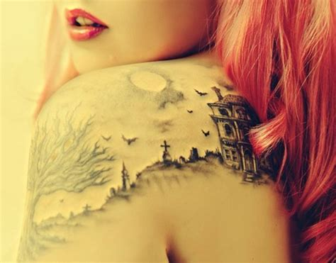 shoulder arm tattoos female but pretty shoulder arm ink