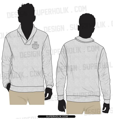 Fashion Design Templates Vector Illustrations And Clip Artsshawl Collar Sweater Fashion Design Sweater Design Template