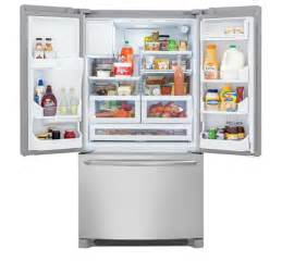 Electrolux French Door Fridge - frigidaire gallery 27 2 cu ft french door refrigerator stainless steel fghb2866pf