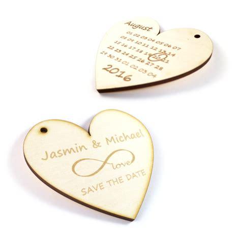 Originelle Einladungen Hochzeit by Hochzeit Originelle Einladungskarte Aus Holz Quot Save The Date Quot
