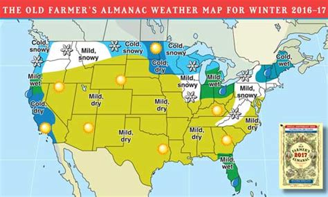 the old farmer s almanac 2017 weather predictions