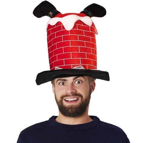 Chimney Hat With Santa - santa in chimney hat holidays events