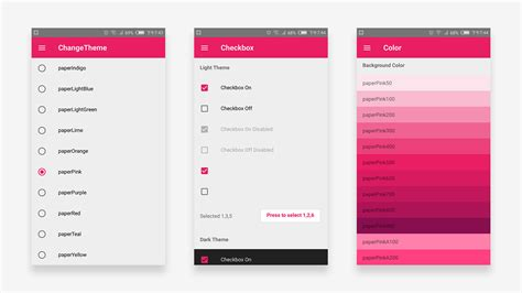 layout animation react native a material design react native sle app